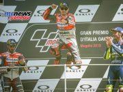 MotoGP Race Results LORENZO Jorge SPA Ducati 41'43.230 DOVIZIOSO Andrea ITA Ducati 6.370 ROSSI Valentino ITA Yamaha 6.629