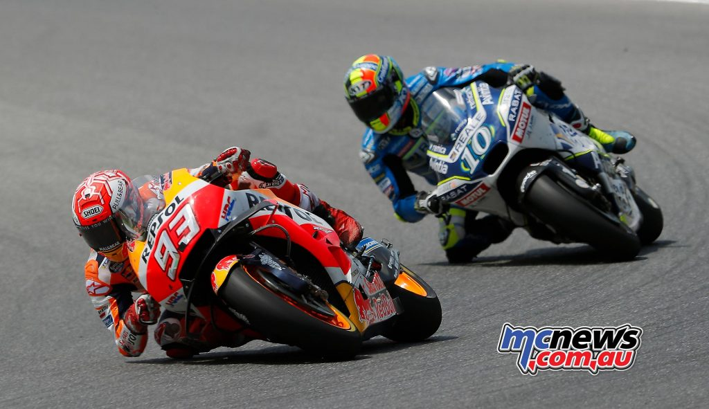 Xavier Simeon found himself fighting with Marc Marquez - Mugello MotoGP 2018