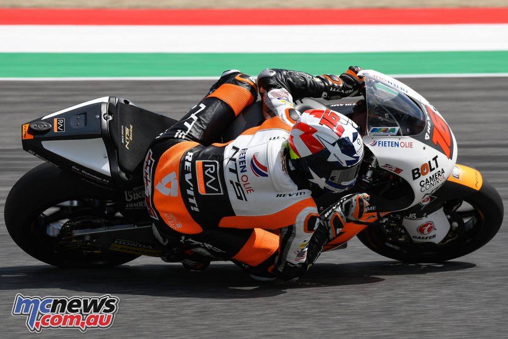 Joe Roberts - Mugello 2018 Moto2 & Moto3 Test