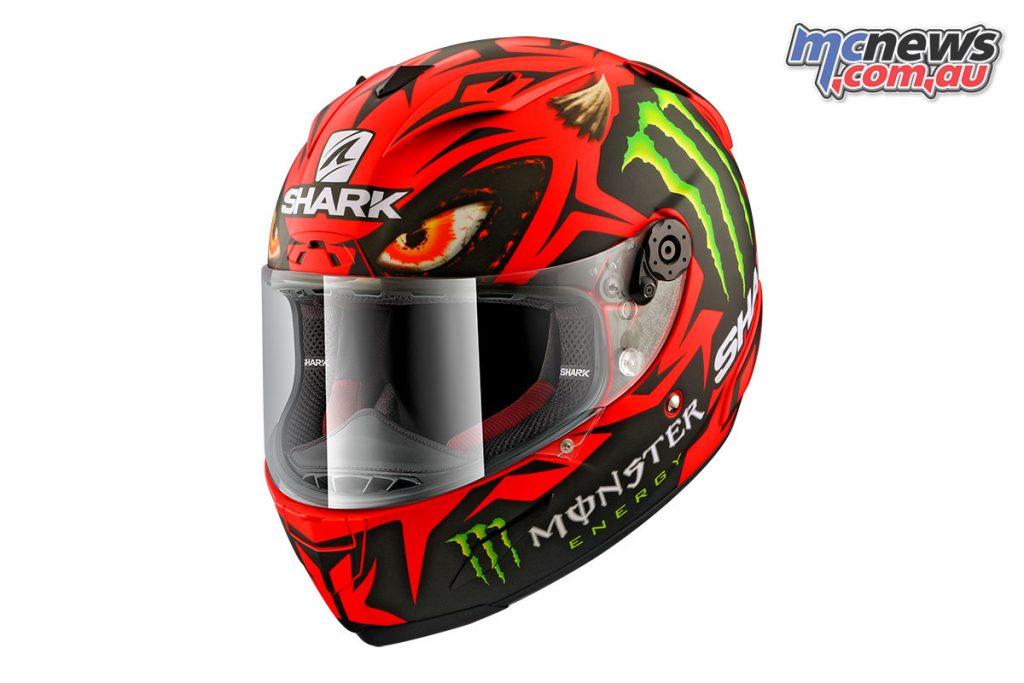 Shark's Racer-R Pro Lorenzo Diablo Replica Helmet