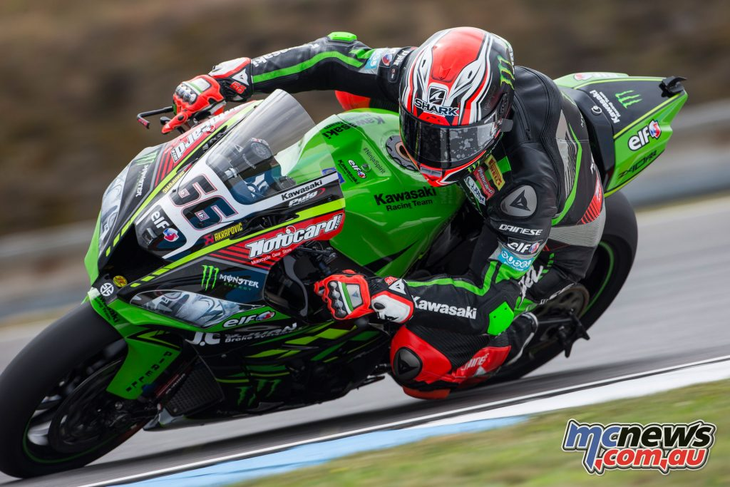 Tom Sykes completed the Race 1 podium