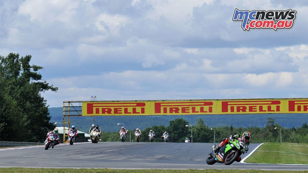 WorldSBK last visited Brno in 2012