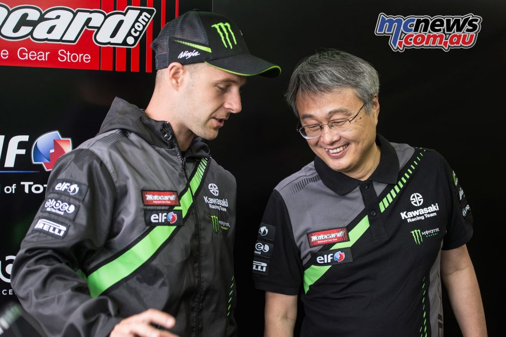 Jonathan Rea confirms another two years with KRT Kawasaki