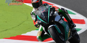 Energica Ego Corsa at Red Bull Ring