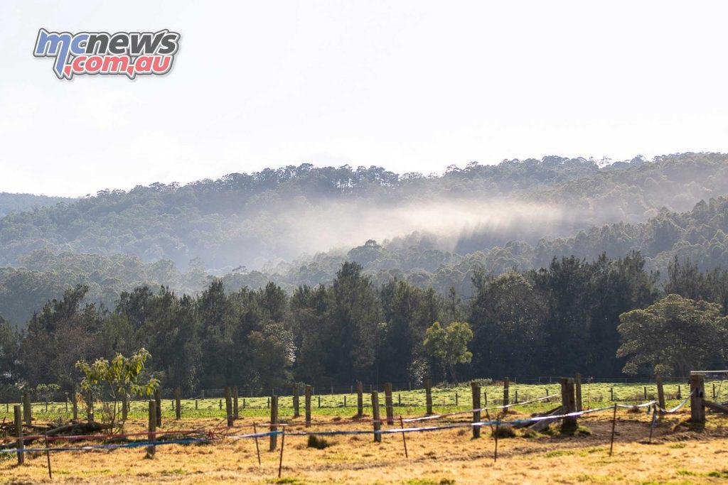 AORC Dungog Dust cloud