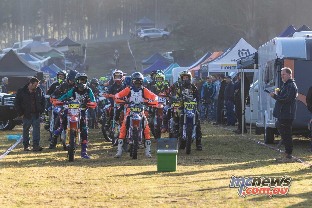 AORC Dungog Juniors start