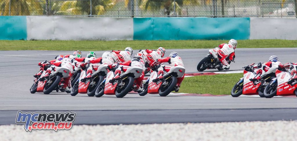 Asia Talent Cup Rnd Sepang R Start