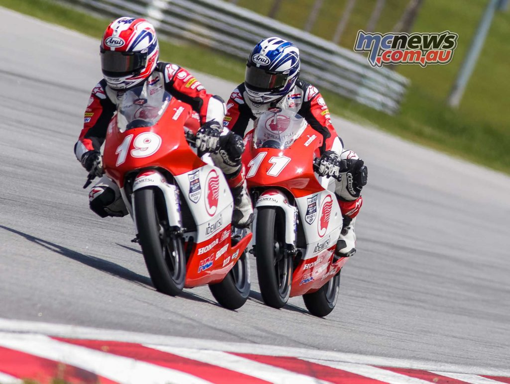 Asia Talent Cup Rnd Sepang R Billy VanEerde Matsuyama