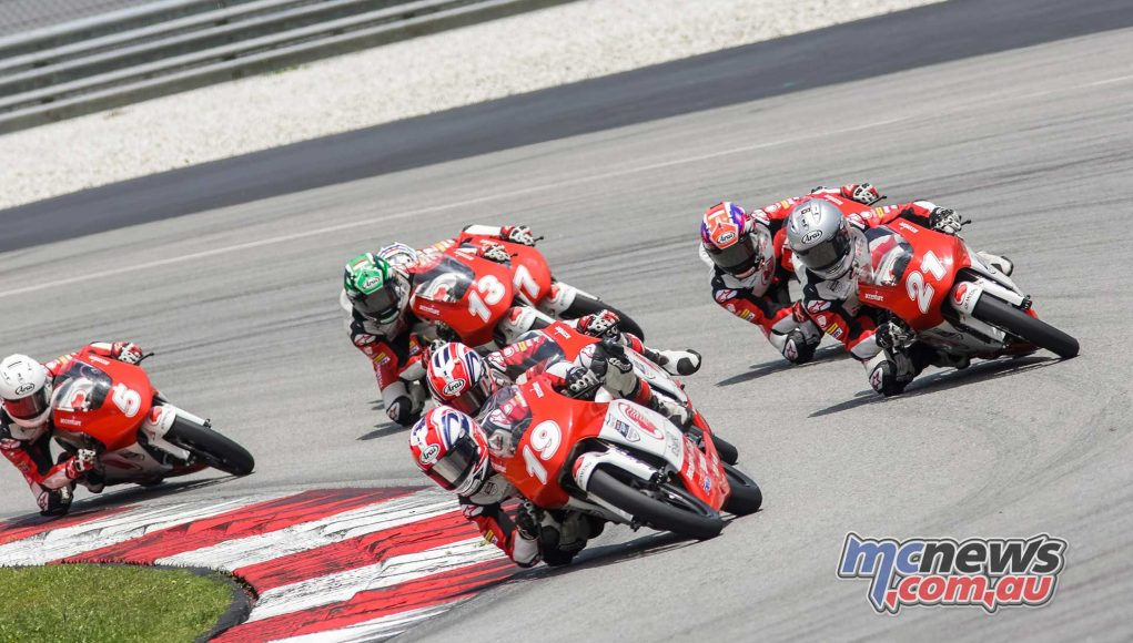 Asia Talent Cup Rnd Sepang R Billy VanEerde Sharil Pack