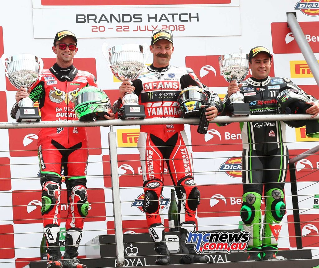 BSB Brands Hatch Josh Brookes Podium ImageDYeomans