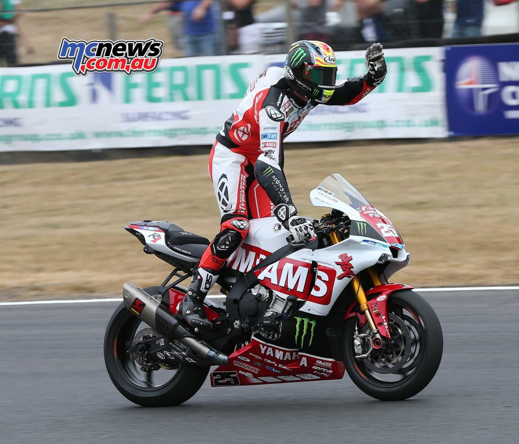 BSB Brands Hatch Josh Brookes takes race ImageDYeomans