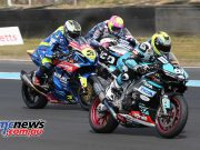 BSB RNd Knockhill Andy Reid Keith Farmer Billy McConnell ImageDYeomans