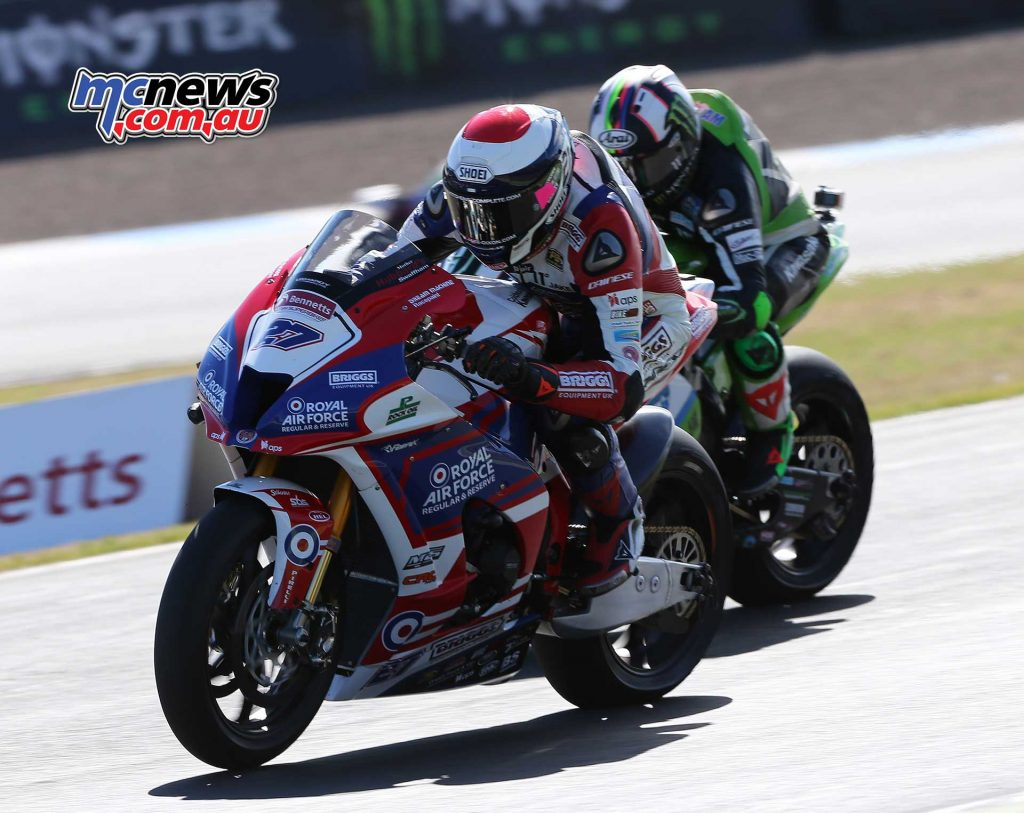 BSB RNd Knockhill Dixon and Haslam close ImageDYeomans