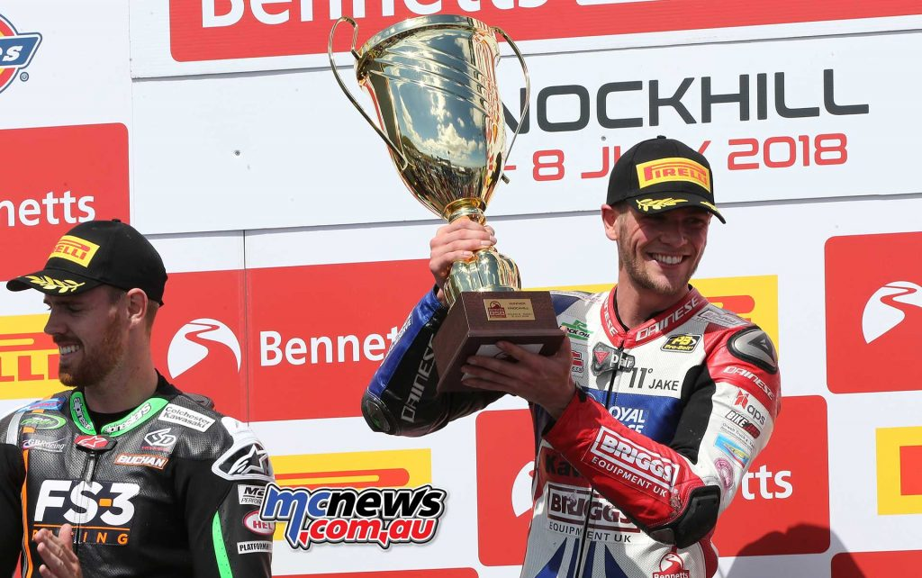 BSB RNd Knockhill Jake Dixon Winners Trophy ImageDYeomans