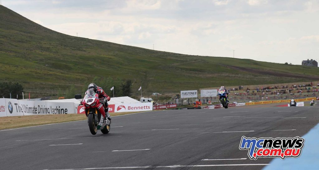 BSB RNd Knockhill Jason OHalloran in action ImageDYeomans