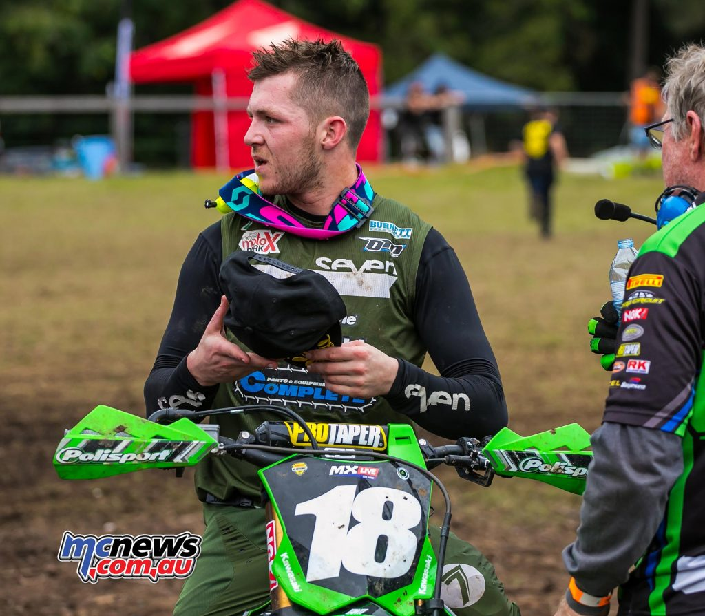 MX Nationals Rnd Conondale Aaron Tanti MX Race ndplace ImageByScottya
