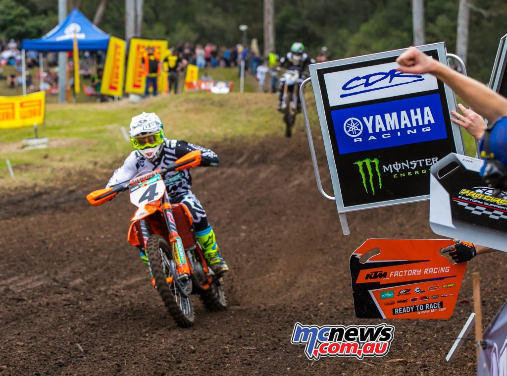 MX Nationals Rnd Conondale Luke Clout Lap ImageByScottya