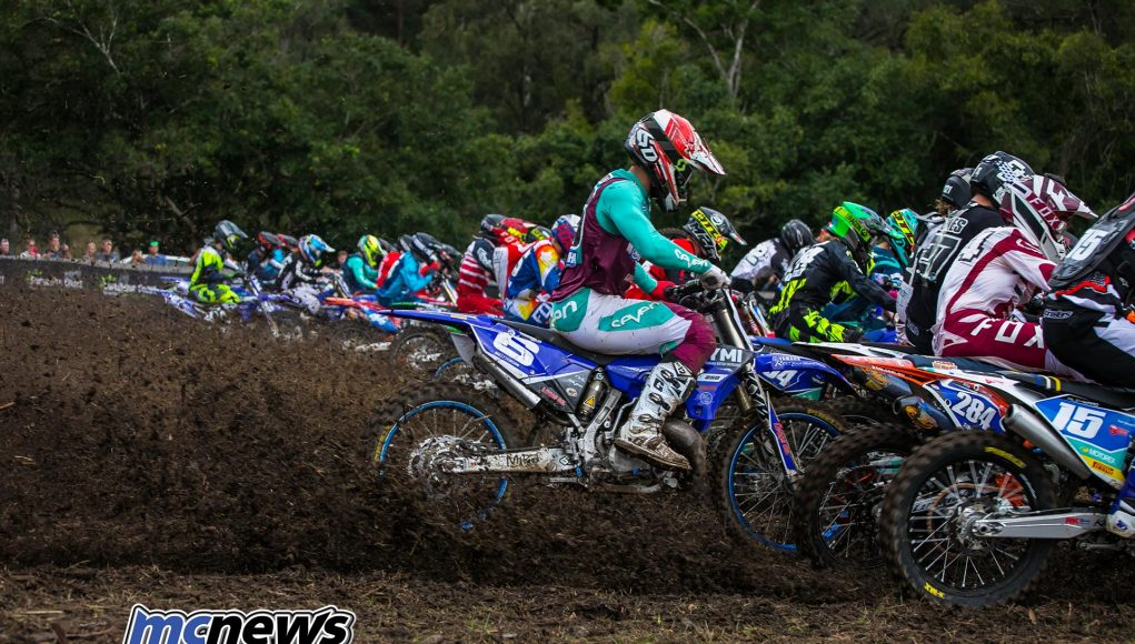 MX Nationals Rnd Conondale MXD Race Start ImageByScottya