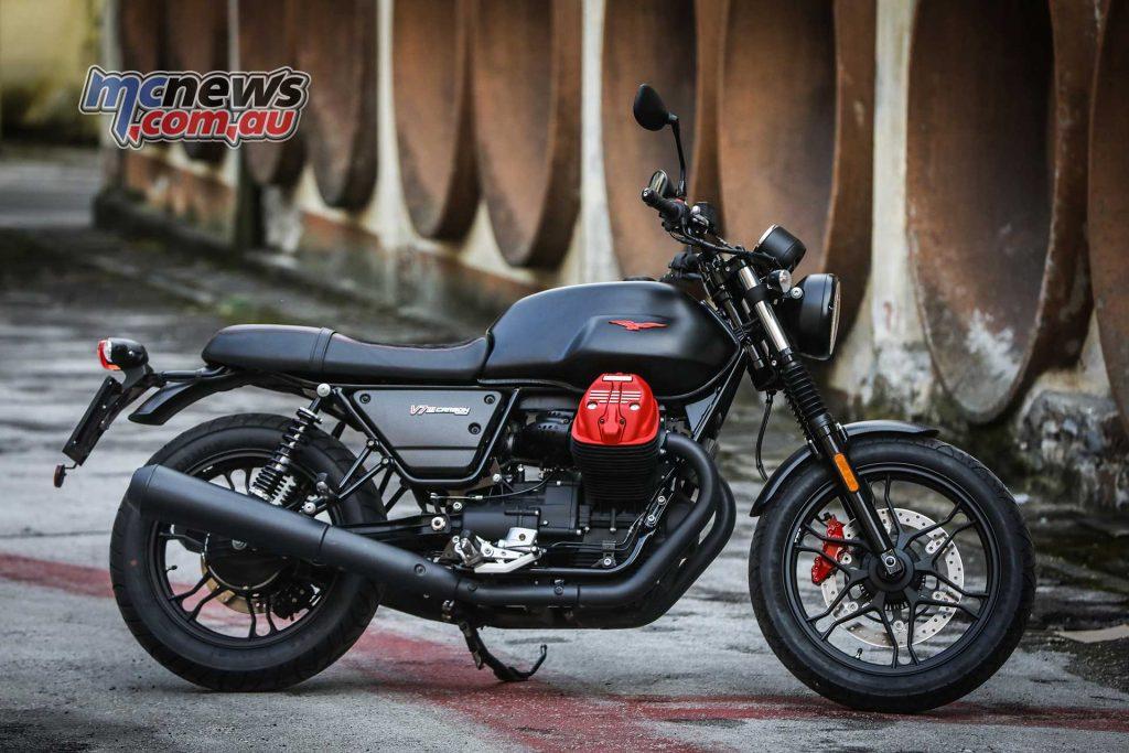 Moto Guzzi V III Limited Carbon