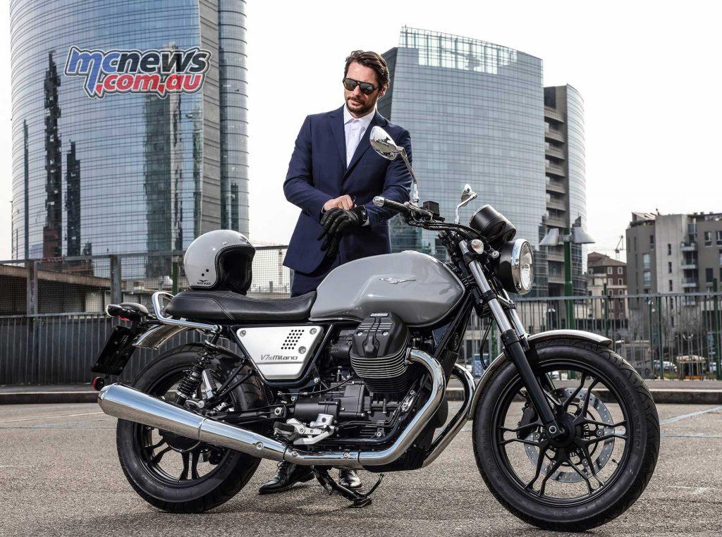 Moto Guzzi V III Limited Milano