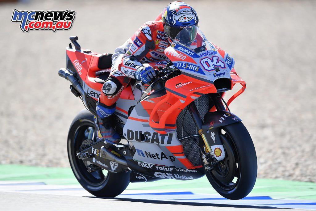 MotoGP Assen QP Dovizioso