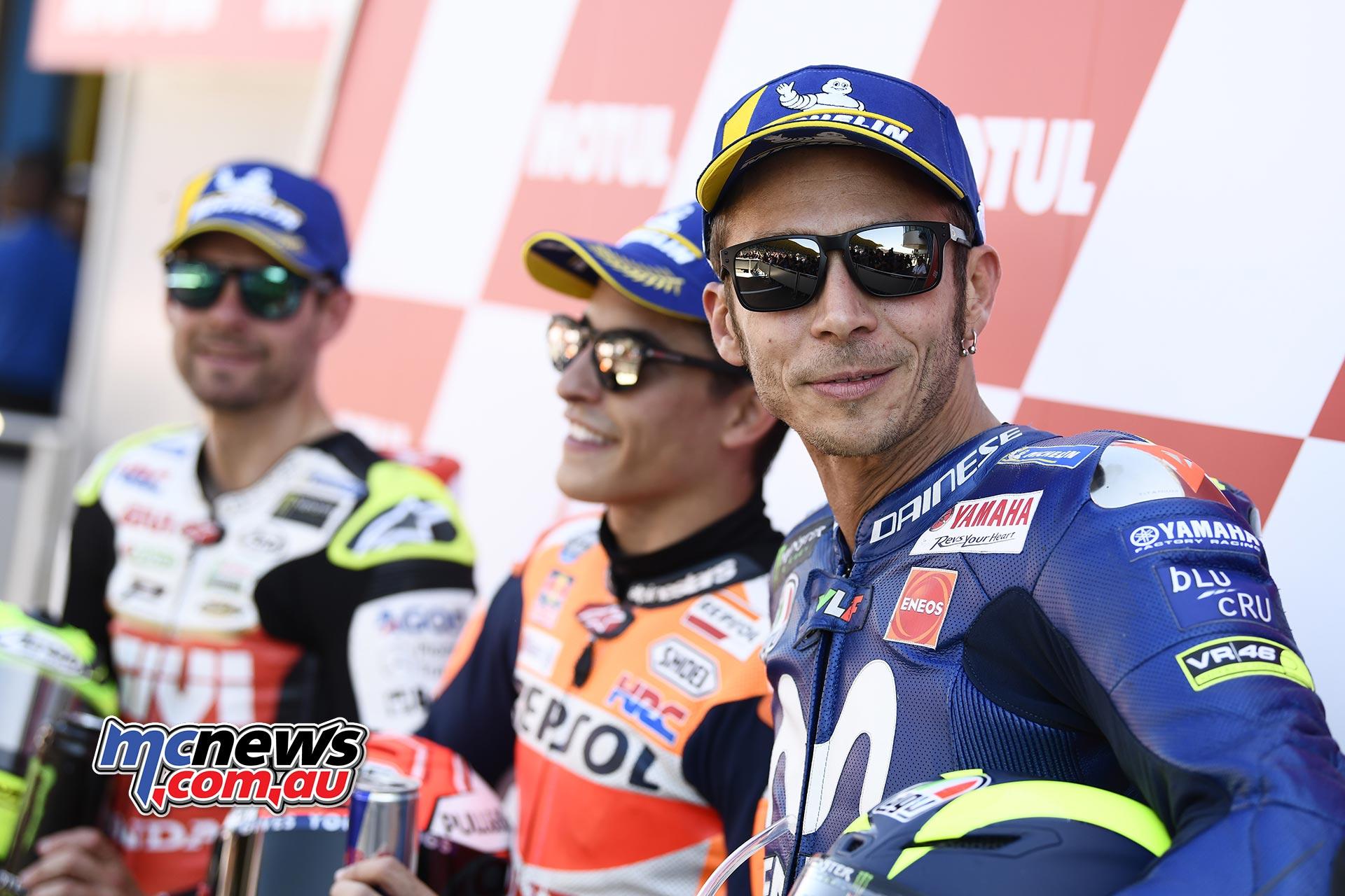 MotoGP Assen QP Rossi