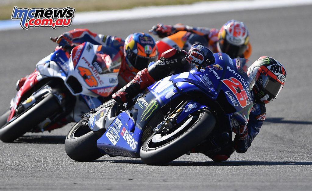 MotoGP Assen QP Vinales