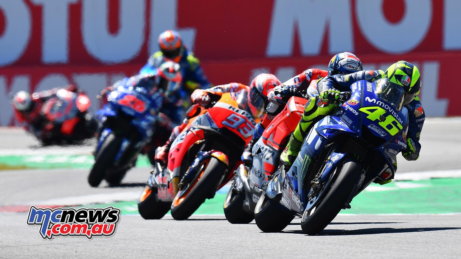 MotoGP Assen Race Rossi