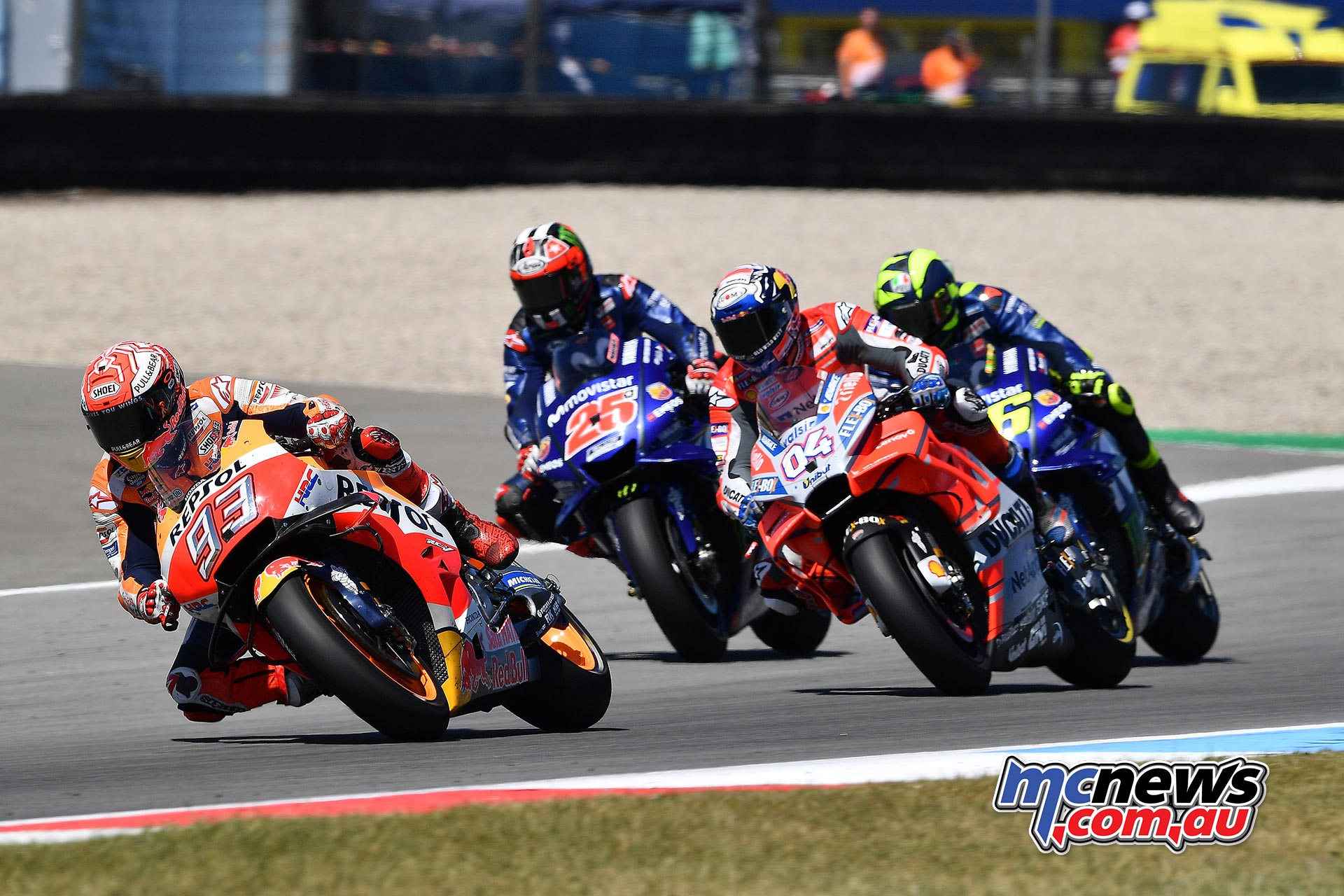 MotoGP Assen Race Marquez