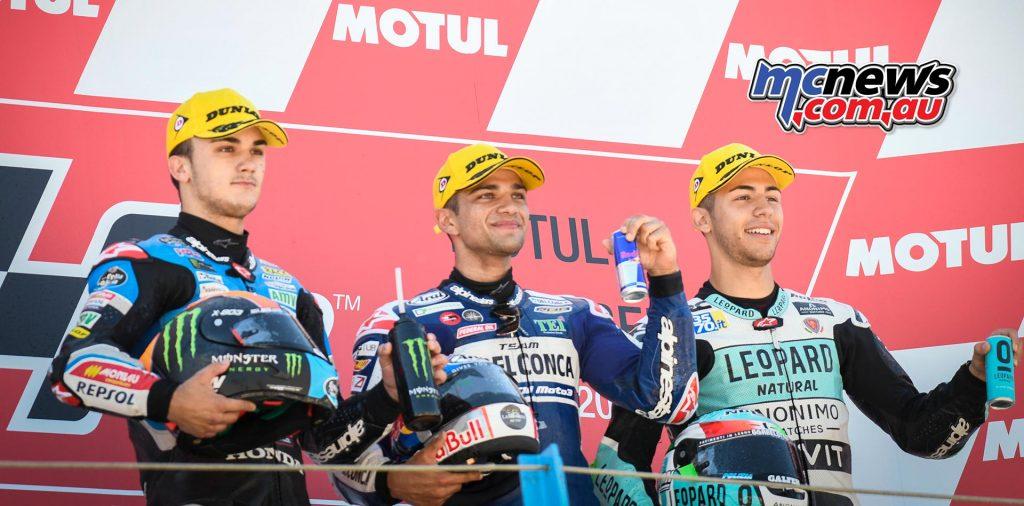 MotoGP Assen Race Moto Jorge Martin Podium