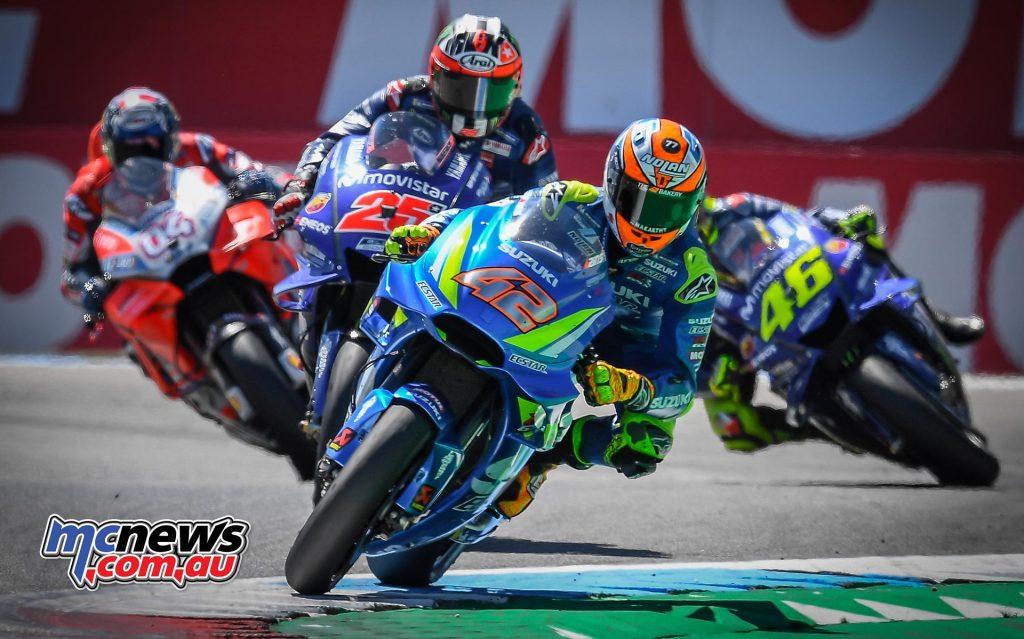 MotoGP Assen Race Rins Vinales