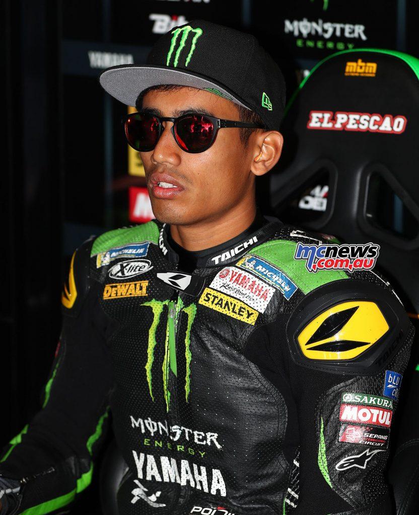 MotoGP Assen Syahrin GP AN