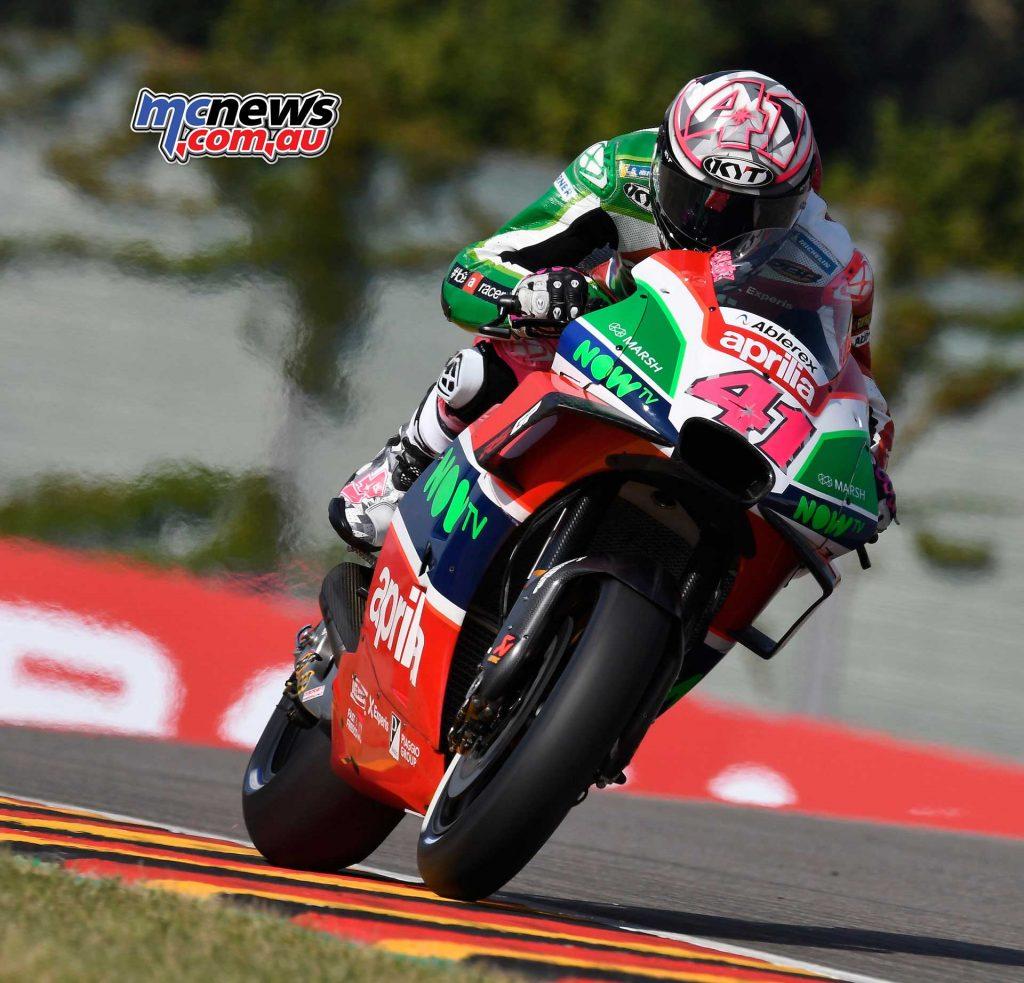 MotoGP Sachsenring Aleix Espargaro