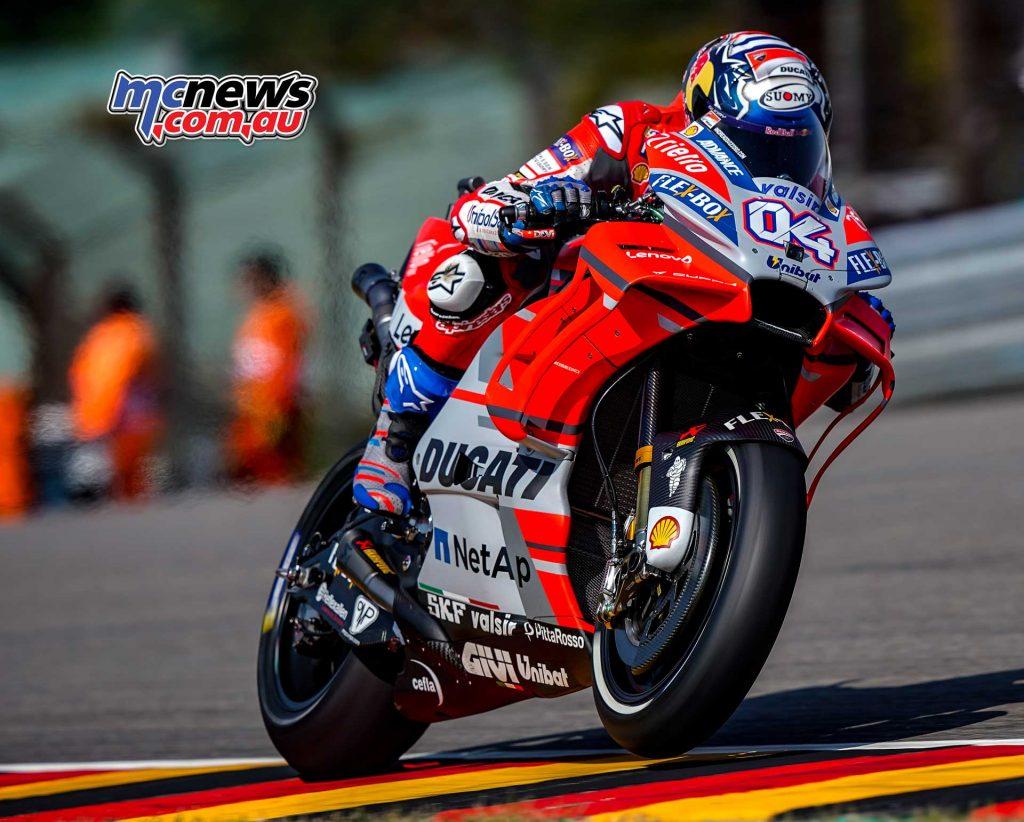 MotoGP Sachsenring Andrea Dovizioso