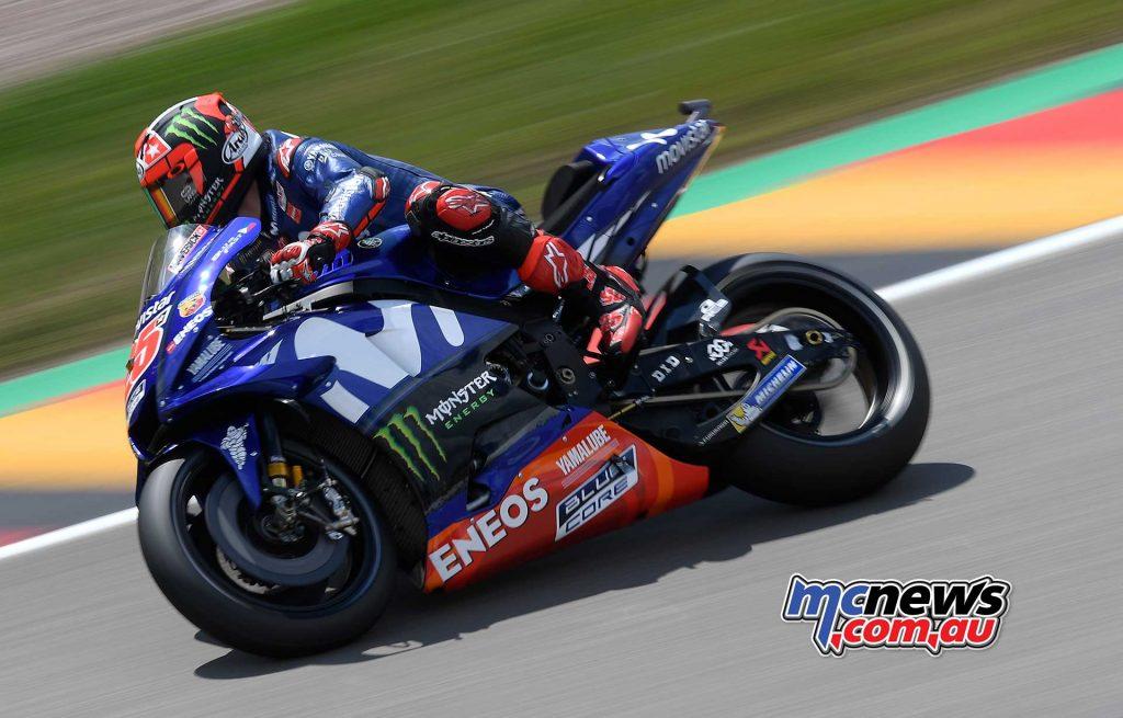 MotoGP Sachsenring Day Maverick Vinales