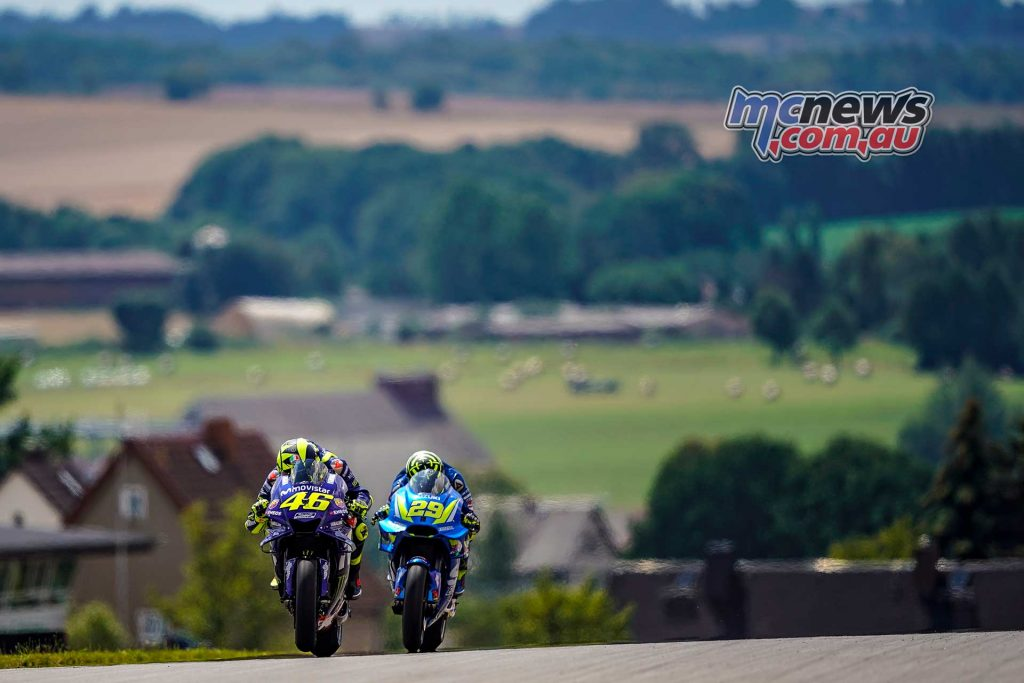 MotoGP Sachsenring Day Valentino Rossi