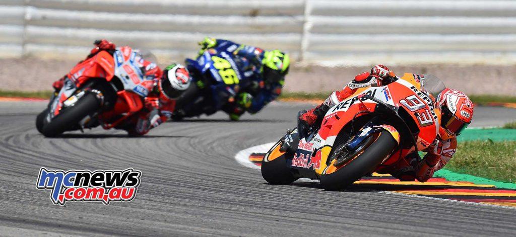 MotoGP Sachsenring Marquez Lorenzo Rossi