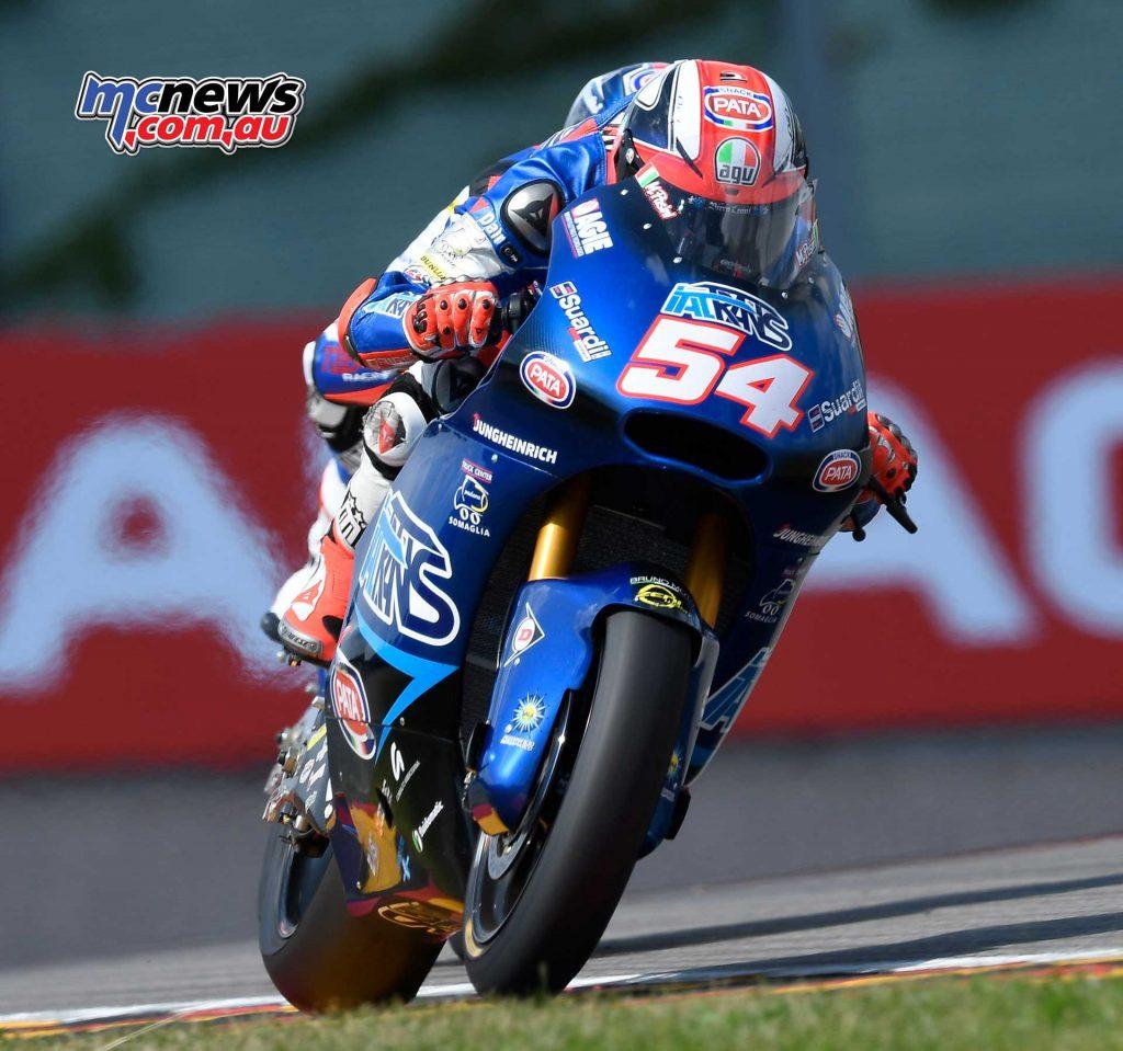 MotoGP Sachsenring Moto QP Pasini