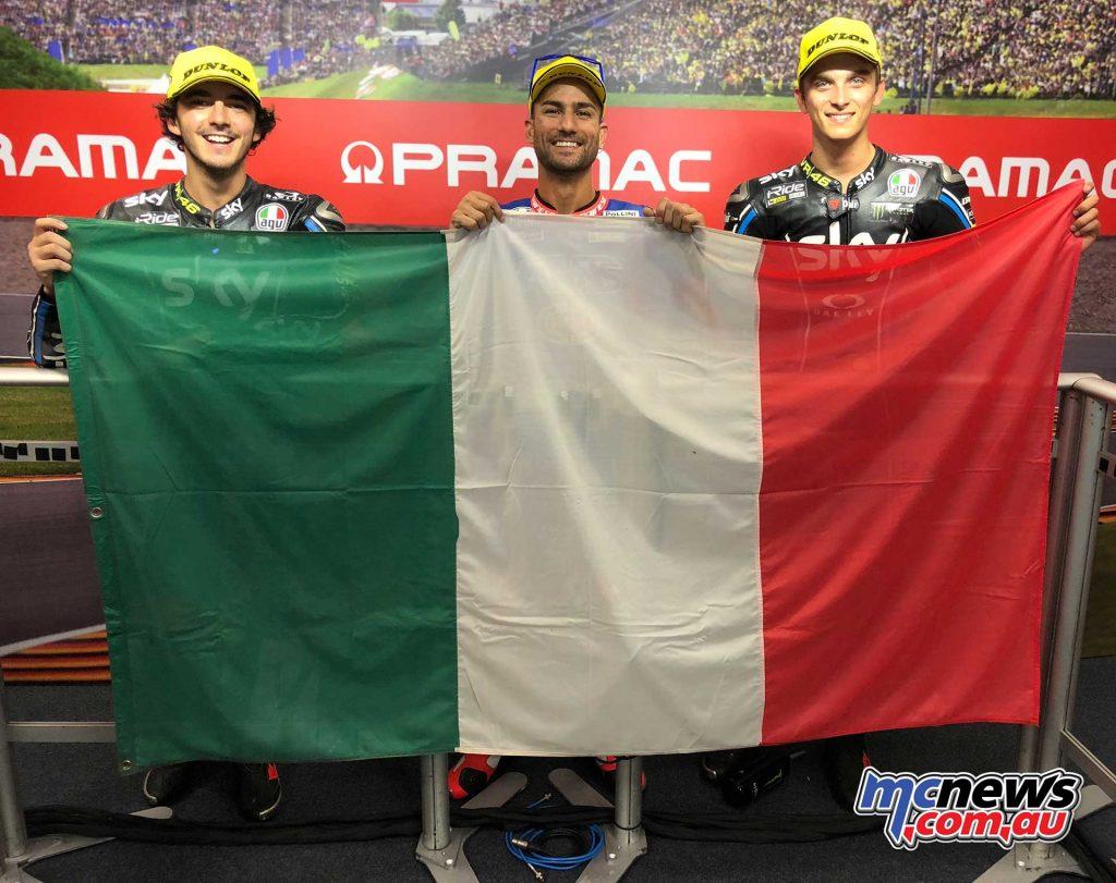 MotoGP Sachsenring Moto QP Trio