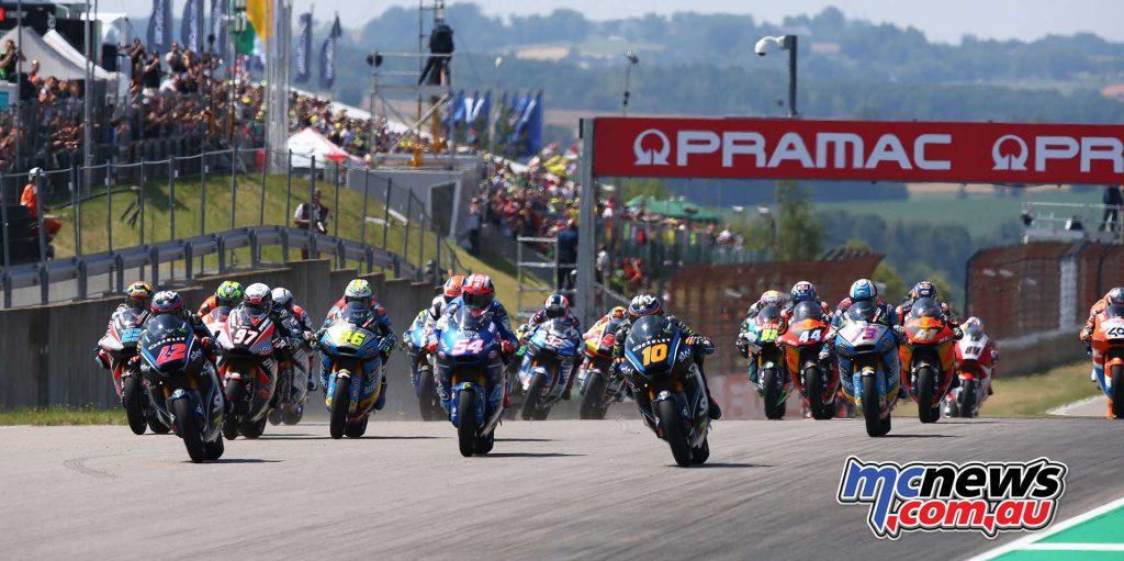 MotoGP Sachsenring Moto start GP AN