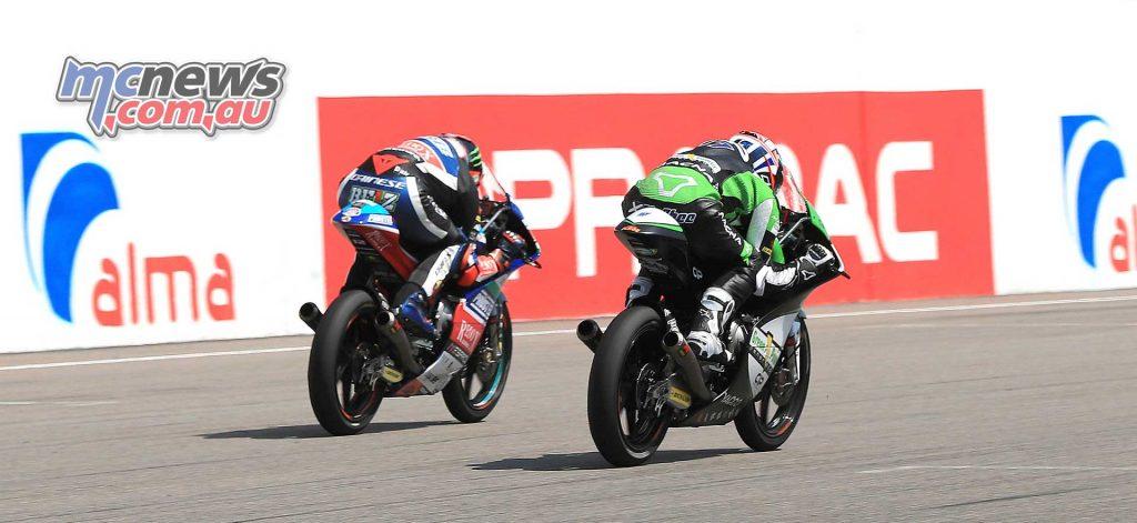 MotoGP Sachsenring Moto Bezzecchi McPhee