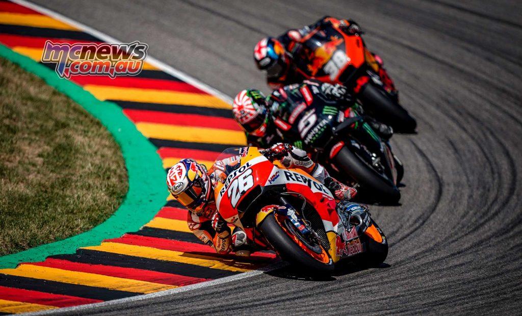MotoGP Sachsenring Pedrosa Zarco Smith
