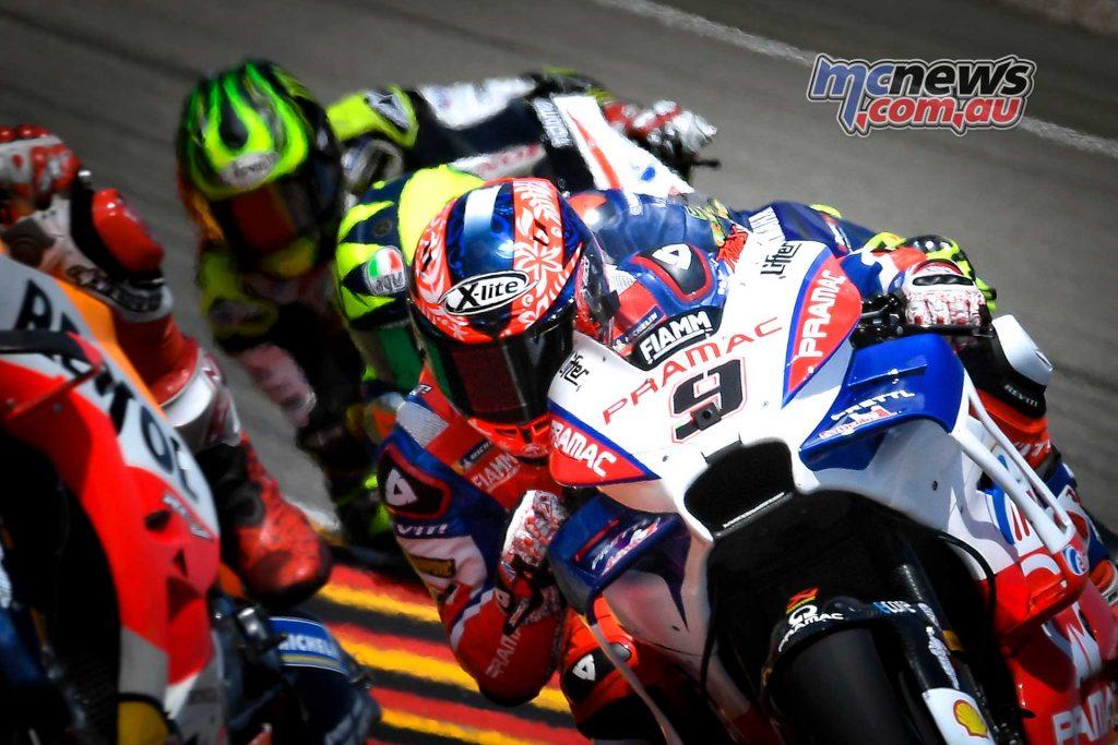 MotoGP Sachsenring Petrucci Rossi Crutchlow