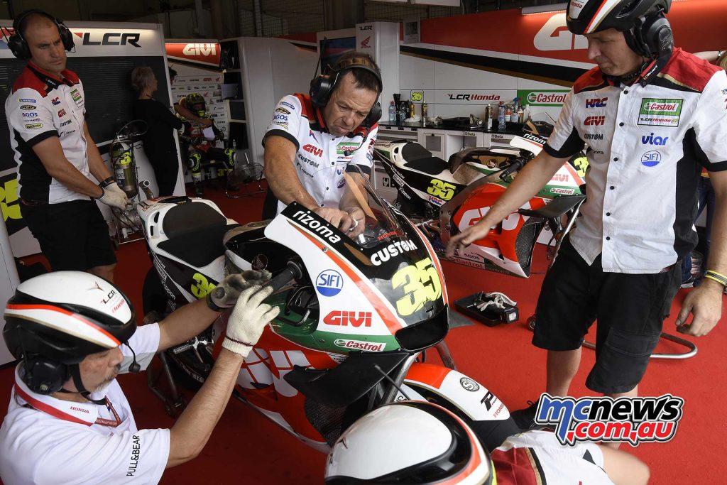 MotoGP Sachsenring QP Crutchlow