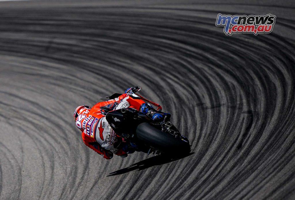 MotoGP Sachsenring QP Dovizioso