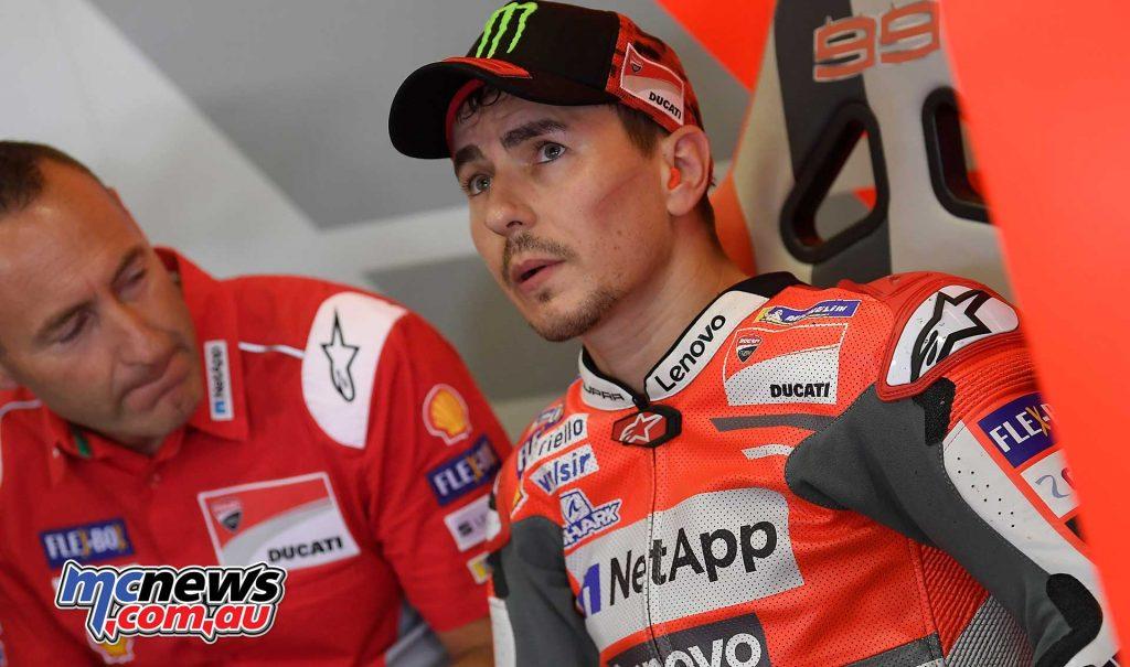 MotoGP Sachsenring QP Lorenzo