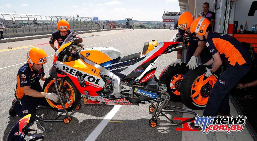 MotoGP Sachsenring QP Marquez