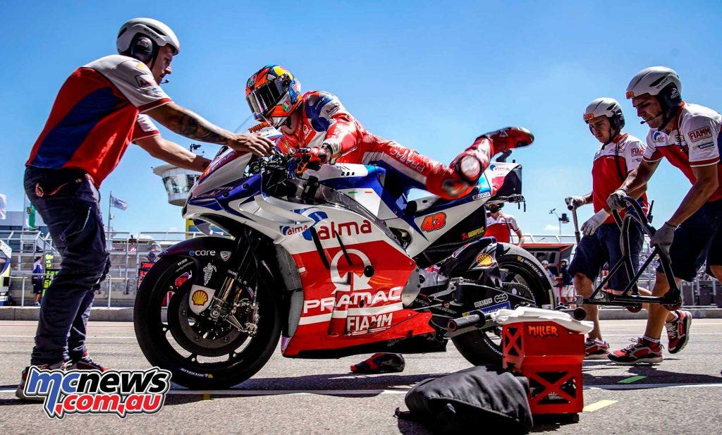 MotoGP Sachsenring QP Miller