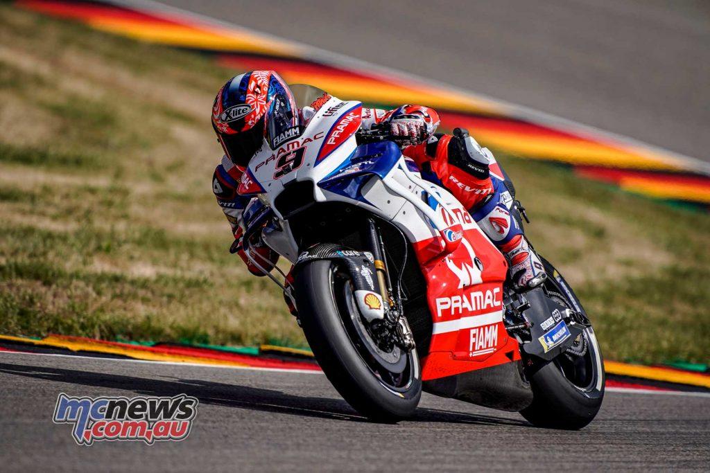MotoGP Sachsenring QP Petrucci