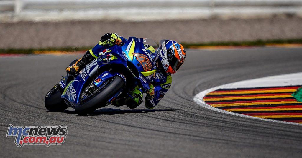 MotoGP Sachsenring QP Rins